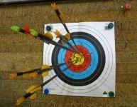 les 2 techniques de la flèche parfaite en cible