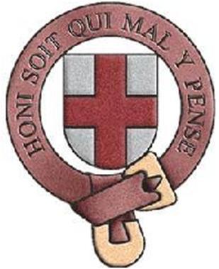 Les armes de l'Ordre de la Jarretière