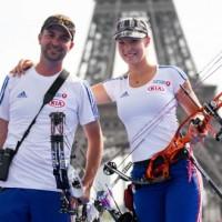 La paire française LEBECQUE/DELOCHE reine et roi à Paris