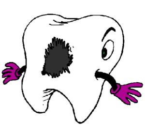 Dents carriées